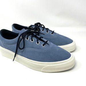 Converse Blue Nubuck Skid Grip Low Top Sneakers M